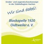 Wir nehmen am Kinder- und Jugendschutzkonzept der Städteregion Aachen teil.
